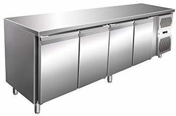 GGG Kühltisch 2230x700x860mm, 4 Türen
