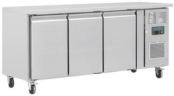 Polar Serie U Kühltisch 3-türig 339L