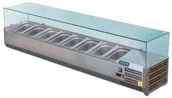 Polar Serie G Aufsatzkühlvitrine für 8x GN1/3