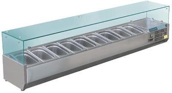 Polar Serie G Aufsatzkühlvitrine für 9x GN1/3