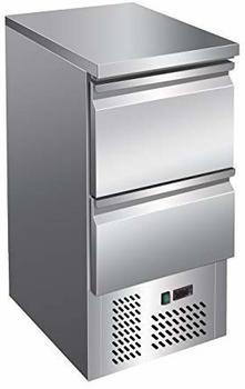 GGG Kühltisch, 435x700x870 mm, 2 Schubladen, 109 L / 65 L