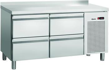Bartscher Kühltisch S4-150 MA mit Aufkantung 4 Schubladen 1342 x 700mm