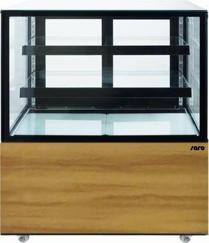 Saro Kuchenvitrine mit Holzdekor, 300 Liter Modell MAXIME 4017337047550