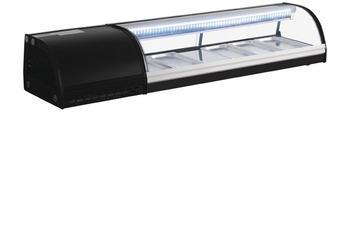 Polar Serie G Kühlvitrine für Sushi 150cm 5050984523960 (DA538)