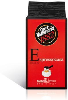 Caffe Vergnano 1882 Casa gemahlen (250 g)