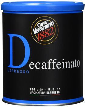 Caffe Vergnano 1882 Casa gemahlen entkoffeiniert (250 g)