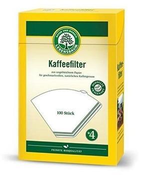 Lebensbaum Kaffeefilter Papier Größe 4