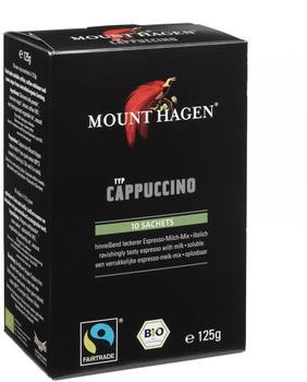 Mount Hagen Fairtrade Cappuccino portioniert