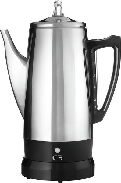 C3 Basic Perkolator 12 Tassen ECO