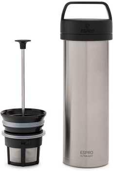 espro-ultralight-coffee-press-p0-edelstahl-gebuerstet