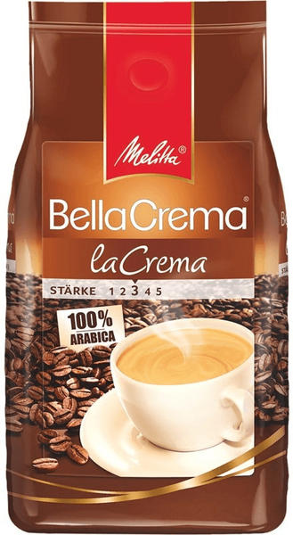 Melitta BellaCrema Cafe LaCrema Bohnen (1 kg)