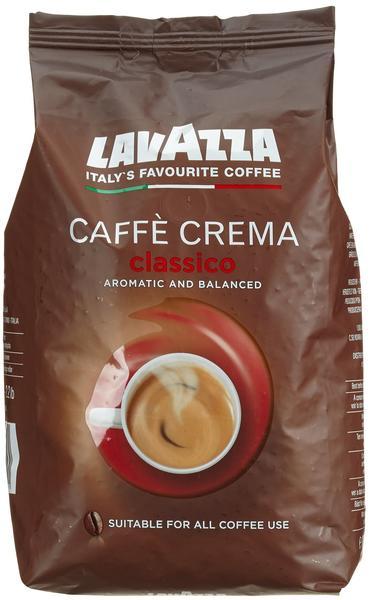 Lavazza Caffe Crema Classico Bohnen + Design Dose (1 kg)