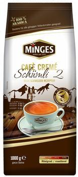Minges Creme Cafe Schweizer Schümli II Bohnen (1 kg)