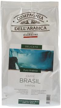 Caffè Corsini Compagnia DellArabica Brasil Santos 250 g