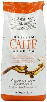 Compagnia dell'arabica Espresso 100% Arabica Bohnen (1 kg)