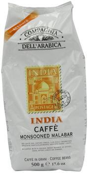 Compagnia dell'arabica Kaffe India 100% Arabica Bohnen (500 g)