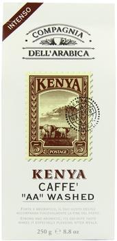 Compagnia dell'arabica Kaffe gemahlen Kenya 100% Arabica (250 g)