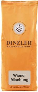 Dinzler Kaffeerösterei Wiener Mischung ganze Bohne (1 kg)