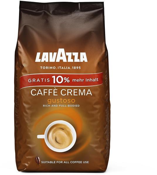 Lavazza Caffe Crema Gustoso Bohnen (1,1 kg)