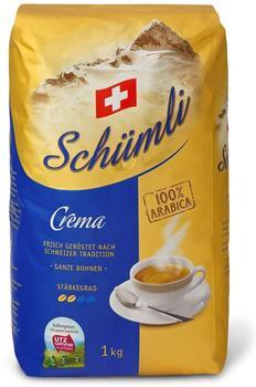 SCHÜMLI Crema Kaffeebohnen