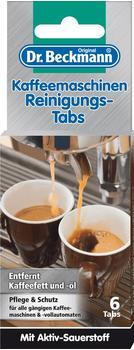 Dr.Beckmann Kaffeemaschinen Reinigungs-Tabs 6 Stück