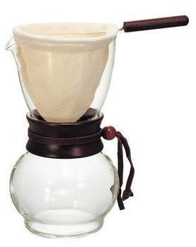 Hario Drip Pot Woodneck | Kaffee-Zubereiter | 240ml