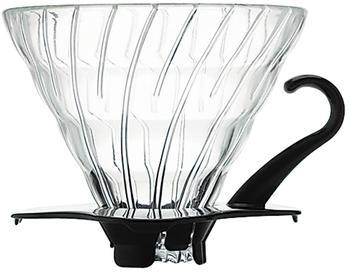 Hario V60 Glass Coffee Dripper 01 schwarz