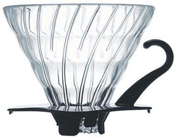 Hario V60 Glass Dripper 02 schwarz