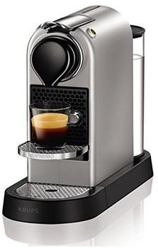 Krups Nespresso New CitiZ XN 740B Silber