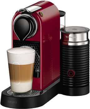 Krups Nespresso New CitiZ & Milk XN 7605 Cherry Red