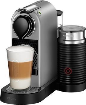 Krups Nespresso New CitiZ & Milk XN 760B Silver