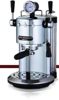 ariete-espressomaschine-siebtraeger-espressomaschine-cafe-novecento-silberfarben