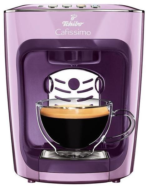 Tchibo Cafissimo mini Kaffeemaschine für Kapseln, Poetry Lila