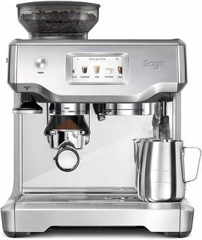 sage SES880BSS4EEU1 The Barista Touch, Espressomaschine, Silber