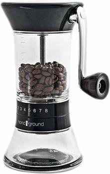 Handground Kaffeemühle schwarz