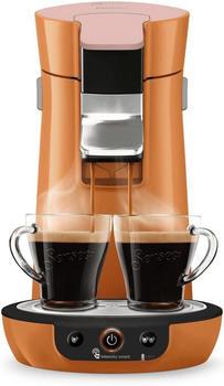 Philips Kaffeepadmaschine Viva Café HD6563/50, orange