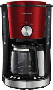Bader morphy richards Frühstücksserie Evoke Kaffeemaschine Rot