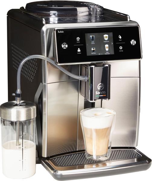 Saeco SM7683/10 Xelsis, 15 Kaffeespezialitäten, edelstahl/schwarz schwarz