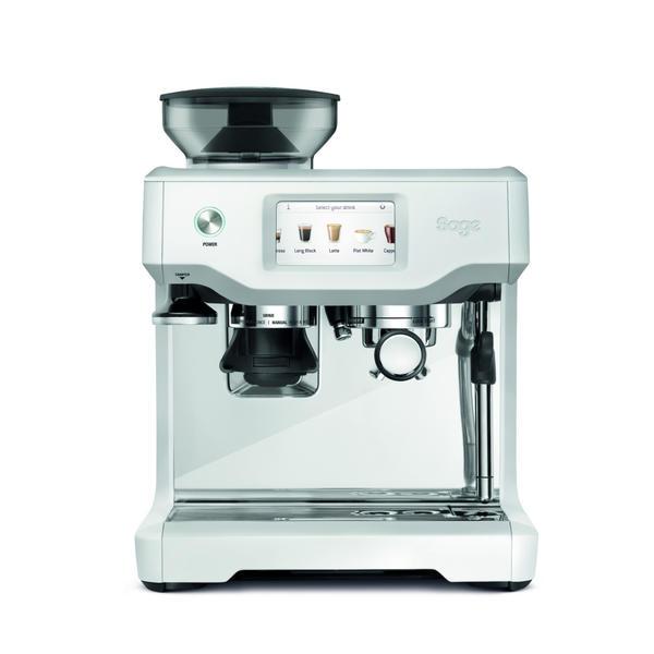 sage Siebträgermaschine The Barista Touch Edelstahl 2400W mit Mahlwerk, mit Milchaufschäumdüse, D