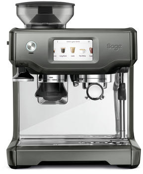 sage Siebträgermaschine The Barista Touch Weiß, Schwarz 2400W mit Mahlwerk, mit Milchaufschäumdü