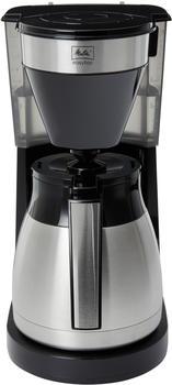 Melitta 1023-10 EasyTop Therm Steel II Filterkaffeemaschine 1050, Edelstahl,