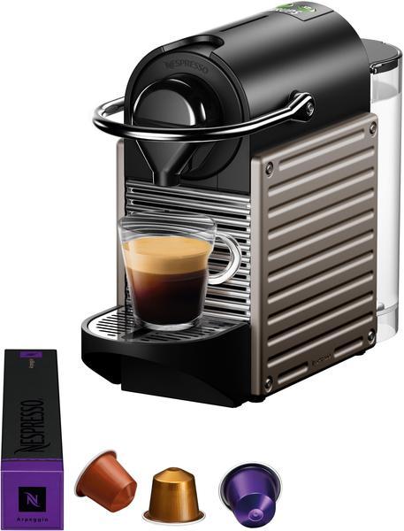 Krups Nespresso Pixie + Aeroccino XN 305T Titan