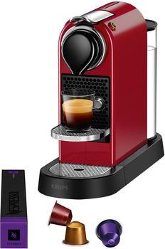 Krups Nespresso CitiZ XN 7415 Cherry Red