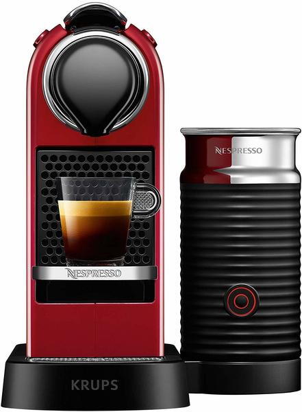Krups Nespresso CitiZ & Milk XN 7415 Cherry Red