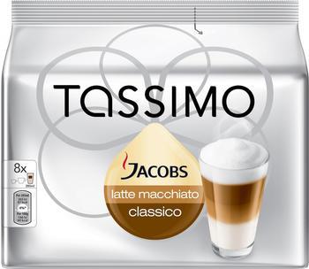 TASSIMO Jacobs Latte Macchiato Classico 16 T Discs