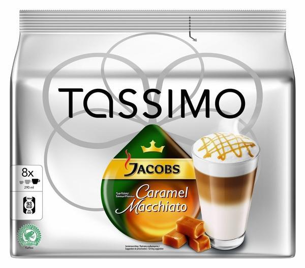TASSIMO Jacobs Latte Macchiato Caramel 16 T Discs