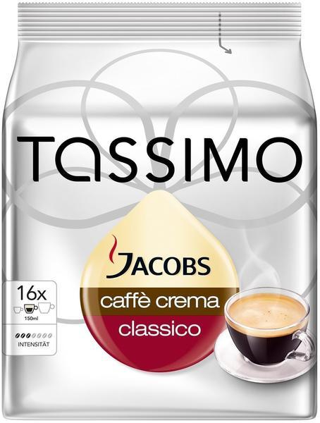 Tassimo Jacobs Caffé Crema Classico T-Disc (16 Port.)