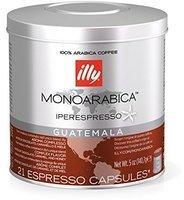 Illy Iperespresso Monoarabica Guatemala 21 Kapseln