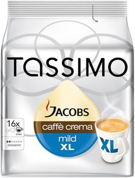 TASSIMO Jacobs Caffè Crema mild XL 16 T Discs