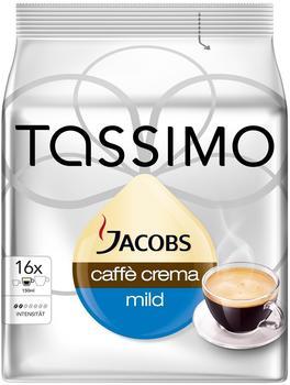 TASSIMO Jacobs Caffè Crema mild 16 T Discs